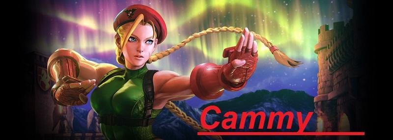 CAMMY figura de accion de street fighter