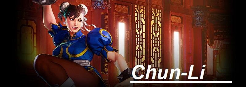 Chun li figura de accion de street fighter