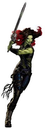Figura Gamora de Guardianes de la galexia