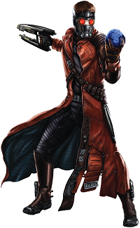 Figura Star Lord guardianes de la galaxia