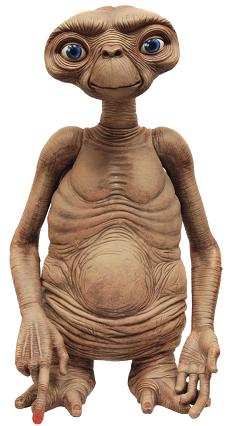 Figura de ET el extraterrestre