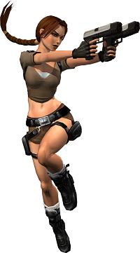 Figura de Lara Croft