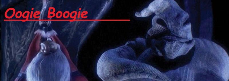 Figura de Oogie Boogie en pesadilla antes de navidad