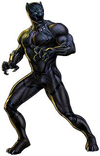 Figura de Pantera negra