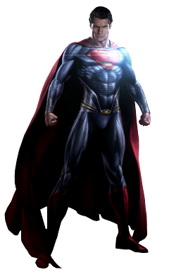 Figuras de superheroes Superman