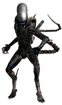 Figura de acción Alien coleccionable
