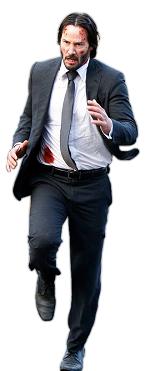 Figura de acción john wick