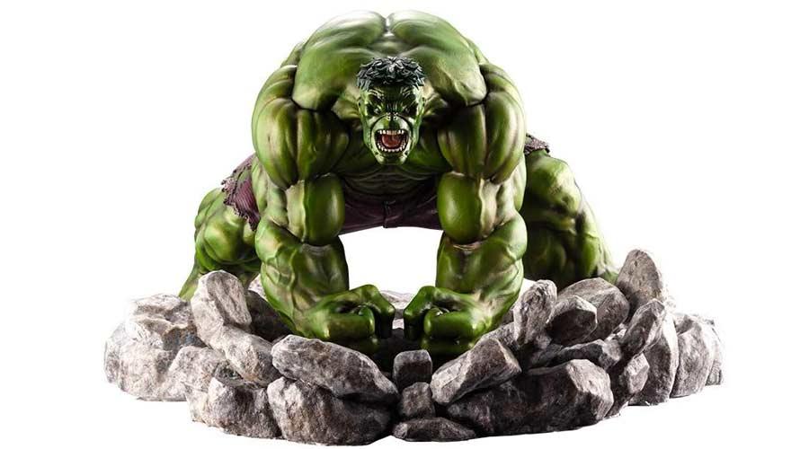 Figura de coleccion de Hulk