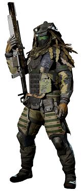 Figura juego Call of Duty