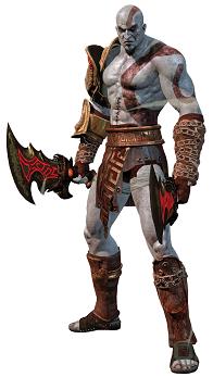 Figura juego god of war