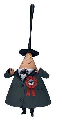 Figuras del Alcalde de pesadilla antes de navidad