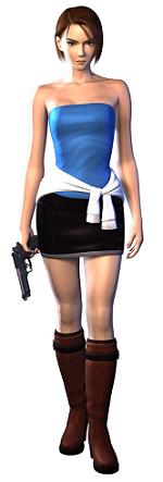 Jill valentine protagonista resident evil