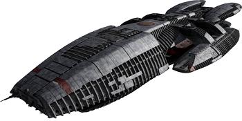 Nave espacial BATTLESTAR GALACTICA