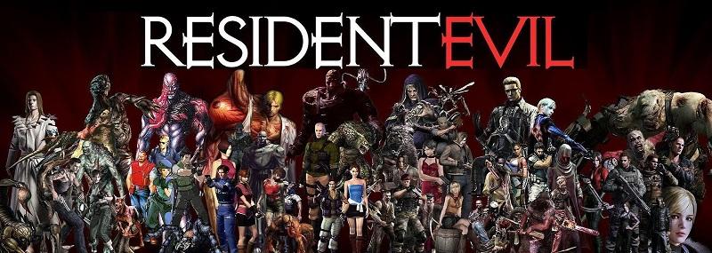 Resident evil figuras de accion del juego