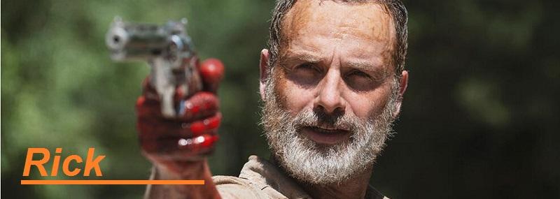 Rick Grimes figuras de accion de The walking Dead