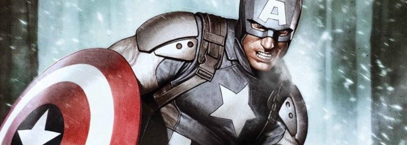 Superhéroe Capitan america