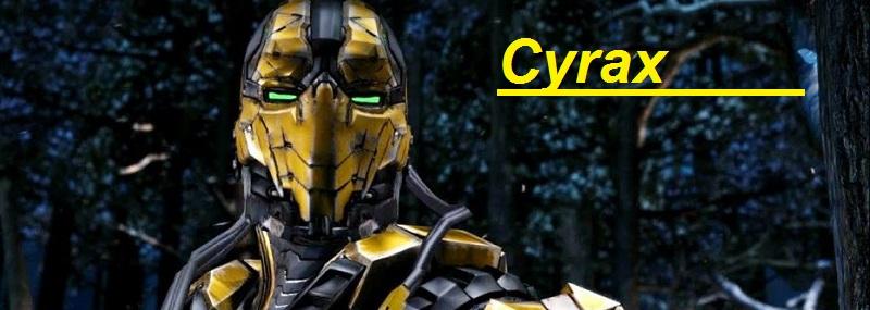 cyrax figuras de Accion Mortal Combat