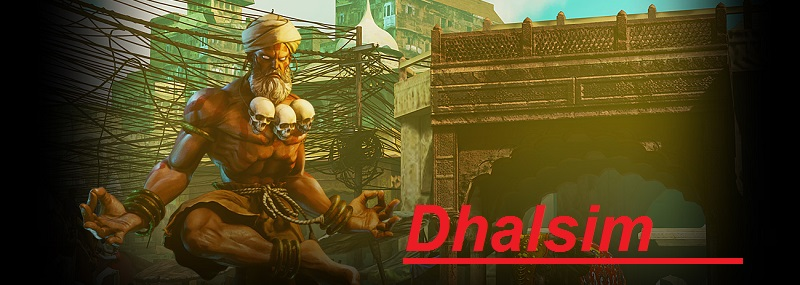dhalsim figura de accion de street fighter