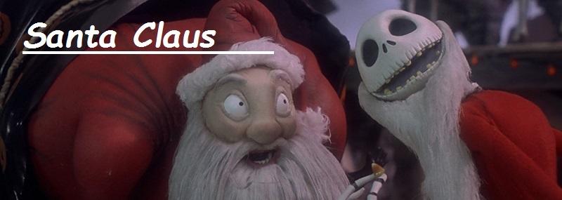 figura Santa claus en pesadilla antes de navidad