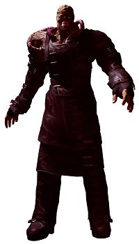figura de nemesis resident evil