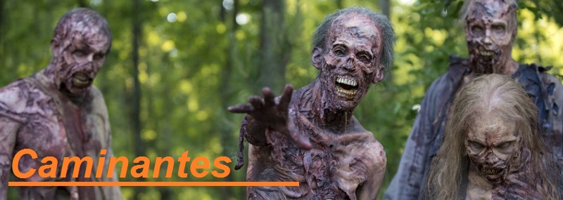 figuras de Zombies de The walking Dead