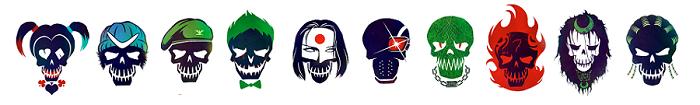 figuras villanos de escuadron suicida
