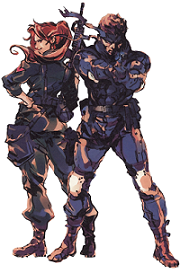 personajes de metal gear solid