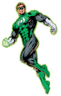 Figura de linterna verde comic