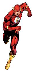 figura de Flash comics